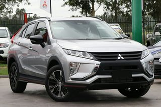 2018 Mitsubishi Eclipse Cross YA MY18 ES 2WD Sterling Silver 8 Speed Constant Variable Wagon.