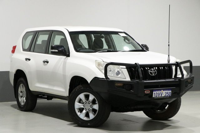 Used Toyota Landcruiser Prado KDJ150R 11 Upgrade GX (4x4), 2012 Toyota Landcruiser Prado KDJ150R 11 Upgrade GX (4x4) White 6 Speed Manual Wagon