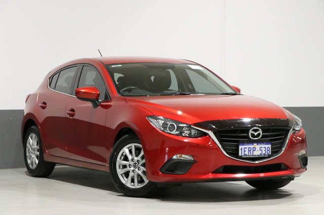 Used Mazda 3 BM Maxx, 2014 Mazda 3 BM Maxx Soul Red 6 Speed Automatic Hatchback