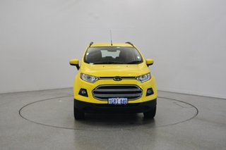 2017 Ford Ecosport BK Trend PwrShift Bright Yellow 6 Speed Sports Automatic Dual Clutch Wagon