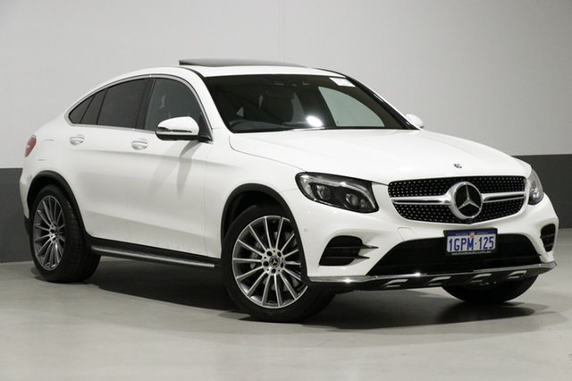 Used Mercedes-Benz GLC250D 253 MY17.5 , 2017 Mercedes-Benz GLC250D 253 MY17.5 White 9 Speed Automatic G-Tronic Coupe
