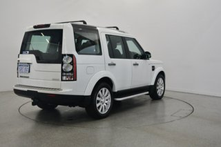 2014 Land Rover Discovery Series 4 L319 MY15 TDV6 White 8 Speed Sports Automatic Wagon.