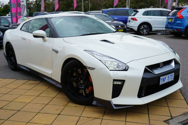 Used Nissan GT-R R35 MY17 Track Edition DCT AWD, 2018 Nissan GT-R R35 MY17 Track Edition DCT AWD White 6 Speed Sports Automatic Dual Clutch Coupe