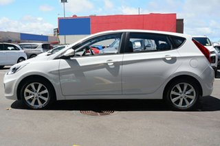 2018 Hyundai Accent SPORT Sport Chalk White 6 Speed Automatic Hatchback