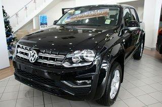 2021 Volkswagen Amarok 2H MY21 TDI550 4MOTION Perm Sportline Deep Black 8 Speed Automatic Utility.