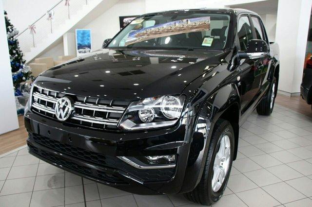 New Volkswagen Amarok 2H MY19 TDI550 4MOTION Perm Sportline, 2019 Volkswagen Amarok 2H MY19 TDI550 4MOTION Perm Sportline Deep Black Pearl Effect 8 Speed