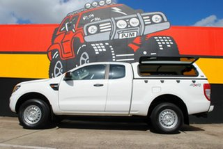 2012 Ford Ranger PX XL Super Cab Super White 6 Speed Manual Utility
