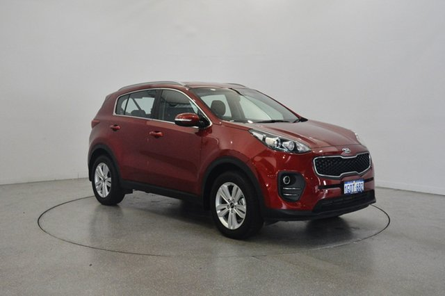 Used Kia Sportage QL MY18 Si 2WD, 2018 Kia Sportage QL MY18 Si 2WD Fiery Red 6 Speed Sports Automatic Wagon