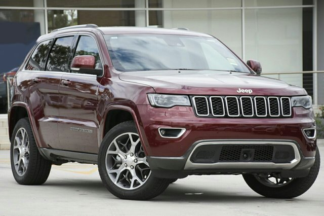 New Jeep Grand Cherokee WK MY18 25th Anniversary, 2018 Jeep Grand Cherokee WK MY18 25th Anniversary Velvet Red 8 Speed Sports Automatic Wagon