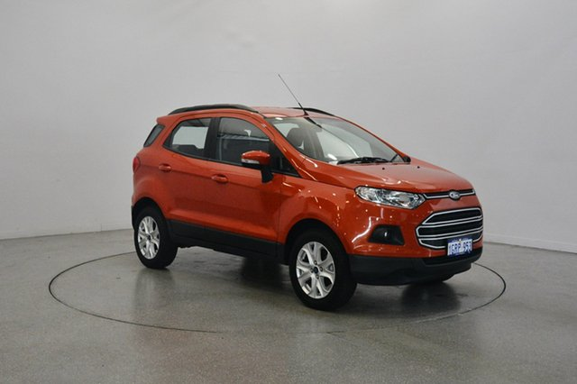Used Ford Ecosport BK Trend PwrShift, 2017 Ford Ecosport BK Trend PwrShift Mars Red 6 Speed Sports Automatic Dual Clutch Wagon