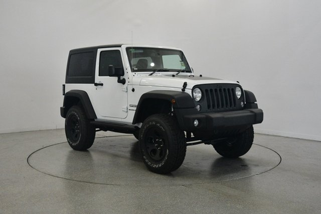 New Jeep Wrangler JK MY18 Sport, 2018 Jeep Wrangler JK MY18 Sport Bright White 5 Speed Automatic Softtop