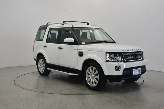 Used Land Rover Discovery Series 4 L319 MY15 TDV6, 2014 Land Rover Discovery Series 4 L319 MY15 TDV6 White 8 Speed Sports Automatic Wagon