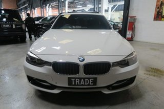 2012 BMW 320d F30 MY0812 White 8 Speed Sports Automatic Sedan