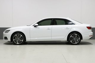 2017 Audi A4 F4 MY17 (B9) 2.0 TFSI S Tronic Sport White 7 Speed Auto Dual Clutch Sedan