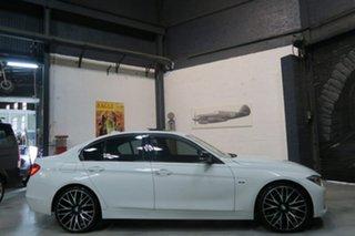 2012 BMW 320d F30 MY0812 White 8 Speed Sports Automatic Sedan.