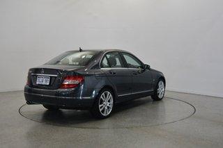 2011 Mercedes-Benz C250 W204 MY11 BlueEFFICIENCY 7G-Tronic + Avantgarde Tenorite Grey 7 Speed.