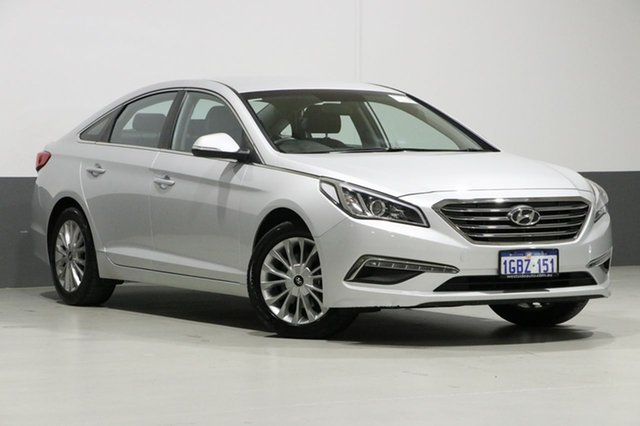 Used Hyundai Sonata LF3 MY17 Active, 2016 Hyundai Sonata LF3 MY17 Active Silver 6 Speed Automatic Sedan
