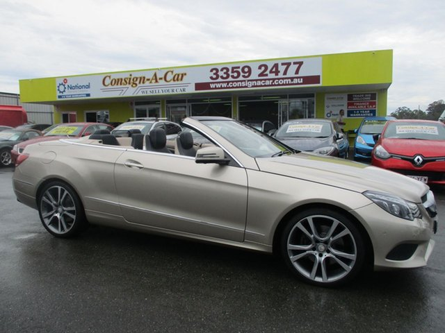 Used Mercedes-Benz E250 A207 MY14 7G-Tronic +, 2014 Mercedes-Benz E250 A207 MY14 7G-Tronic + Aragonite Silver 7 Speed Sports Automatic Cabriolet