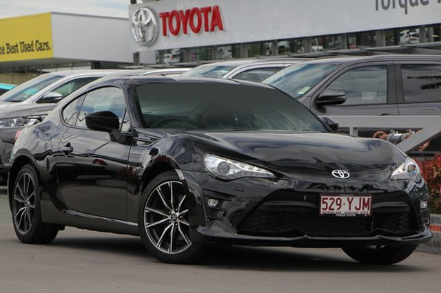 Demo Toyota 86 ZN6 GTS, 2018 Toyota 86 ZN6 GTS Storm Black 6 Speed Sports Automatic Coupe