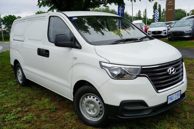 Demo Hyundai iLOAD TQ4 MY19 , 2018 Hyundai iLOAD TQ4 MY19 Creamy White 5 Speed Automatic Van