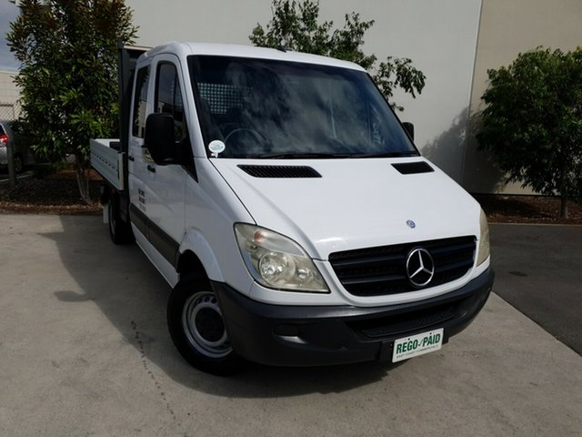 Used Mercedes-Benz Sprinter NCV3 MY10 316CDI MWB, 2010 Mercedes-Benz Sprinter NCV3 MY10 316CDI MWB White 5 Speed Automatic Cab Chassis