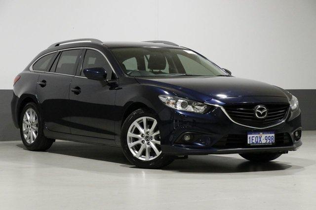 Used Mazda 6 6C MY14 Upgrade Touring, 2014 Mazda 6 6C MY14 Upgrade Touring Blue 6 Speed Automatic Wagon