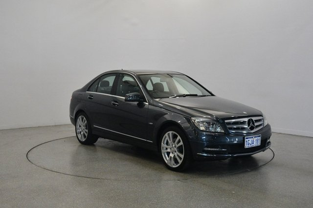Used Mercedes-Benz C250 W204 MY11 BlueEFFICIENCY 7G-Tronic + Avantgarde, 2011 Mercedes-Benz C250 W204 MY11 BlueEFFICIENCY 7G-Tronic + Avantgarde Tenorite Grey 7 Speed