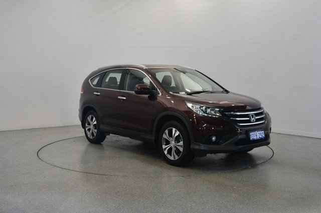 Used Honda CR-V RM VTi-S 4WD, 2013 Honda CR-V RM VTi-S 4WD Red 5 Speed Automatic Wagon