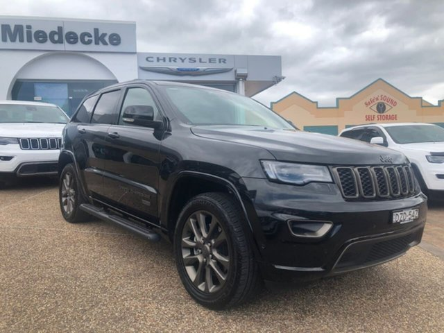 Used Jeep Grand Cherokee WK MY16 75TH Anniversary (4x4), 2016 Jeep Grand Cherokee WK MY16 75TH Anniversary (4x4) Brilliant Black Crystal Pearl 8 Speed
