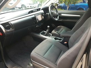 2015 Toyota Hilux GUN126R SR5 Extra Cab Black 6 Speed Manual Utility.