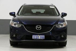 2014 Mazda 6 6C MY14 Upgrade Touring Blue 6 Speed Automatic Wagon.