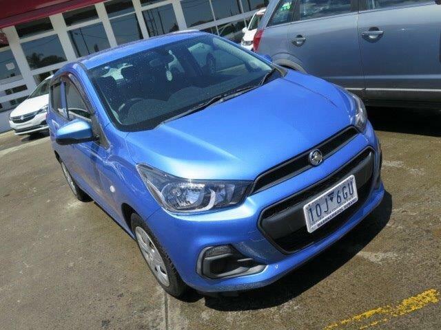 Used Holden Spark MP MY16 LS, 2016 Holden Spark MP MY16 LS Blue 5 Speed Manual Hatchback