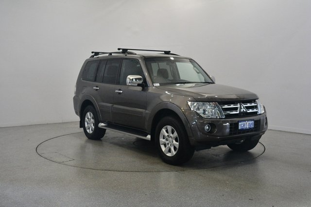 Used Mitsubishi Pajero NW MY12 Platinum, 2011 Mitsubishi Pajero NW MY12 Platinum Bronze 5 Speed Sports Automatic Wagon