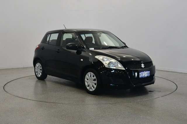 Used Suzuki Swift FZ GL, 2012 Suzuki Swift FZ GL Black 5 Speed Manual Hatchback