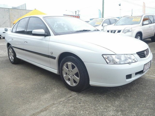 Used Holden Commodore VY Acclaim, 2003 Holden Commodore VY Acclaim White 4 Speed Automatic Sedan