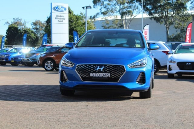 Demo Hyundai i30 PD SR Premium, 2017 Hyundai i30 PD SR Premium Marina Blue 7 Speed Automatic Hatchback