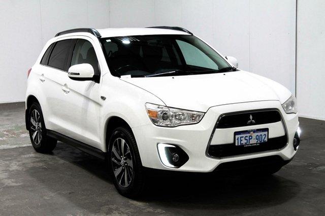 Used Mitsubishi ASX XB MY15 LS 2WD, 2015 Mitsubishi ASX XB MY15 LS 2WD White 6 Speed Constant Variable Wagon
