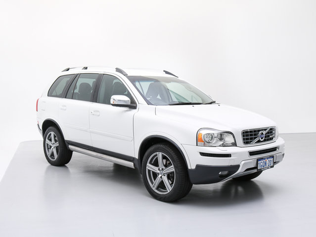 Used Volvo XC90 MY11 V8 R-Design, 2010 Volvo XC90 MY11 V8 R-Design White 6 Speed Automatic Geartronic Wagon