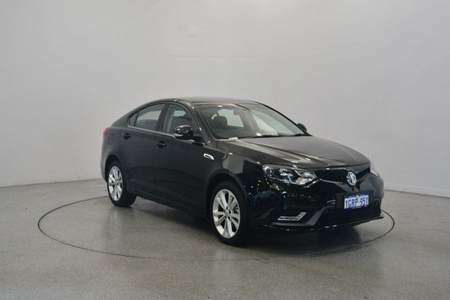Used MG MG6 IP2X Core, 2017 MG MG6 IP2X Core Black 6 Speed Sports Automatic Dual Clutch Hatchback