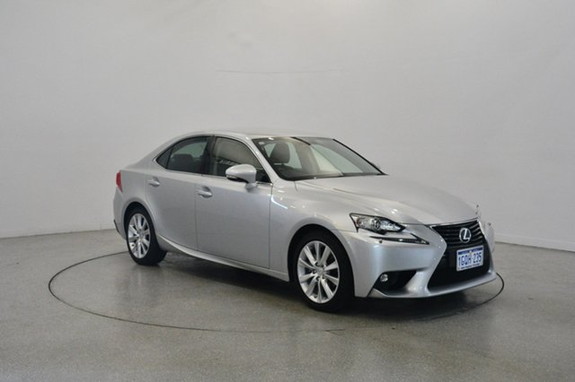 Used Lexus IS250 GSE30R Luxury, 2015 Lexus IS250 GSE30R Luxury Silver 6 Speed Sports Automatic Sedan