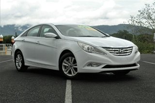 2011 Hyundai i45 YF MY11 Active White 6 Speed Manual Sedan.