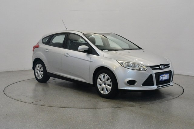 Used Ford Focus LW MKII Ambiente PwrShift, 2014 Ford Focus LW MKII Ambiente PwrShift Ingot Silver 6 Speed Sports Automatic Dual Clutch