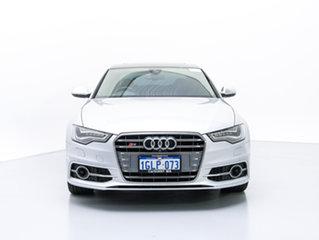 2013 Audi S6 4GL 4.0 TFSI LE Silver 7 Speed Auto Direct Shift Sedan.