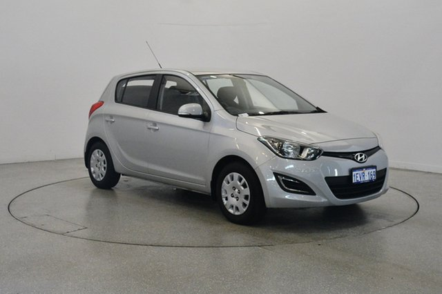 Used Hyundai i20 PB MY16 Active, 2015 Hyundai i20 PB MY16 Active Silver 4 Speed Automatic Hatchback