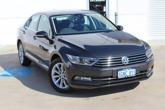 Used Volkswagen Passat 3C (B8) MY18 132TSI DSG, 2017 Volkswagen Passat 3C (B8) MY18 132TSI DSG Grey 7 Speed Sports Automatic Dual Clutch Sedan