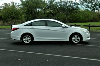 2011 Hyundai i45 YF MY11 Active White 6 Speed Manual Sedan
