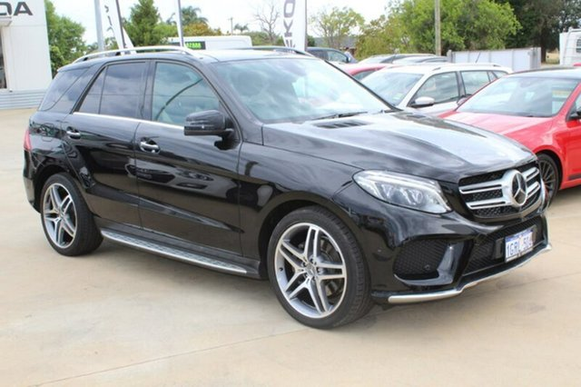 Used Mercedes-Benz GLE350 W166 807MY d 9G-TRONIC 4MATIC, 2017 Mercedes-Benz GLE350 W166 807MY d 9G-TRONIC 4MATIC Black/black White 9 Speed Sports Automatic