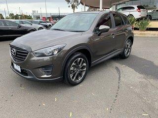 2015 Mazda CX-5 KE1022 Grand Touring SKYACTIV-Drive AWD Grey 6 Speed Sports Automatic Wagon.