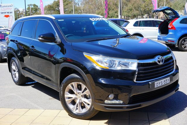 Used Toyota Kluger GSU50R GXL 2WD, 2015 Toyota Kluger GSU50R GXL 2WD Black 6 Speed Sports Automatic Wagon