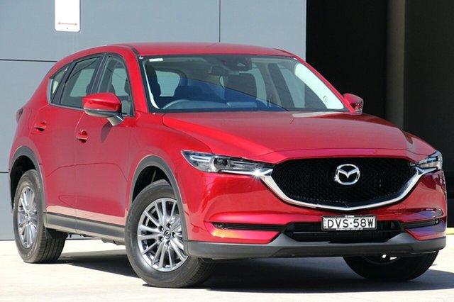 Used Mazda CX-5 KF4W2A Maxx SKYACTIV-Drive i-ACTIV AWD Sport, 2018 Mazda CX-5 KF4W2A Maxx SKYACTIV-Drive i-ACTIV AWD Sport Soul Red 6 Speed Sports Automatic Wagon